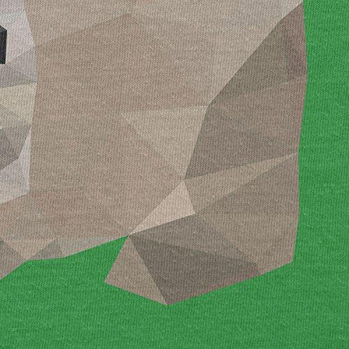 Texlab–Poly Bunny–sacchetto di stoffa Verde