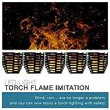 Lumisky Flamy Lampe Torche LED Imitation Flamme Solaire et rechargeable pour Jardin...