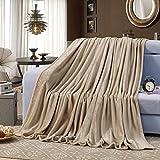 shinemoon alle Season Collection Farbe Thermo-Flanell Fleece Groß Full/Queen Size leicht Betten Sofa Decken und Blatt Gartenstuhl Abdeckhülle