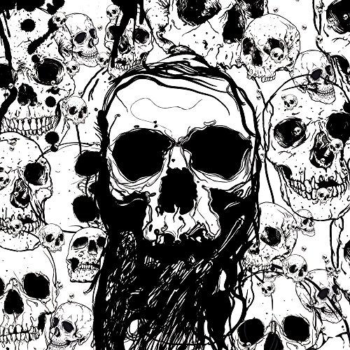 Apple iPhone 4 Case Skin Sticker aus Vinyl-Folie Aufkleber Skull Totenkopf Totenschädel DesignSkins® glänzend