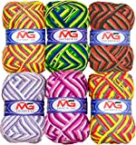 #9: M.G Enterprises Wool Mix 1 for Art and Craft