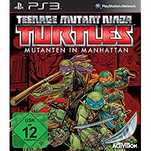 Teenage Mutant Ninja Turtles: Mutanten in Manhattan – [PlayStation 3]