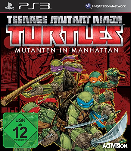Teenage Mutant Ninja Turtles: Mutanten in Manhattan - [PlayStation (Video Ninja Spiele Turtle)