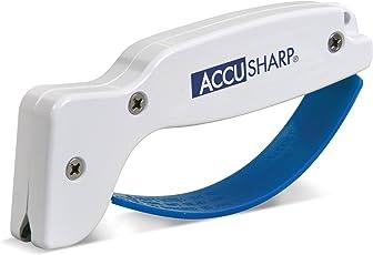 Knife India AccuSharp ACCU-001C World's Fastest Sharpener (White)