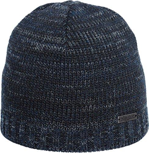 Eisglut Mütze Dylan marine mel, one size Fleece-visor Beanie