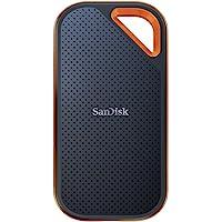 SanDisk Extreme PRO SSD Portatile, Velocità di Lettura Fino a 1050 MB/s, USB-C, Resistente e Impermeabile, 1 TB