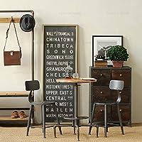 Vintage ferro battuto cafe tavoli e sedie bar esterno tavoli