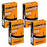 4 x Continental Bike Inner Tube Race 28 700 20 25 Presta 42mm cycle valve