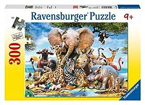 Ravensburger Puzzle con diseño de cachorros de Africa, 300 piezas (13075 7)