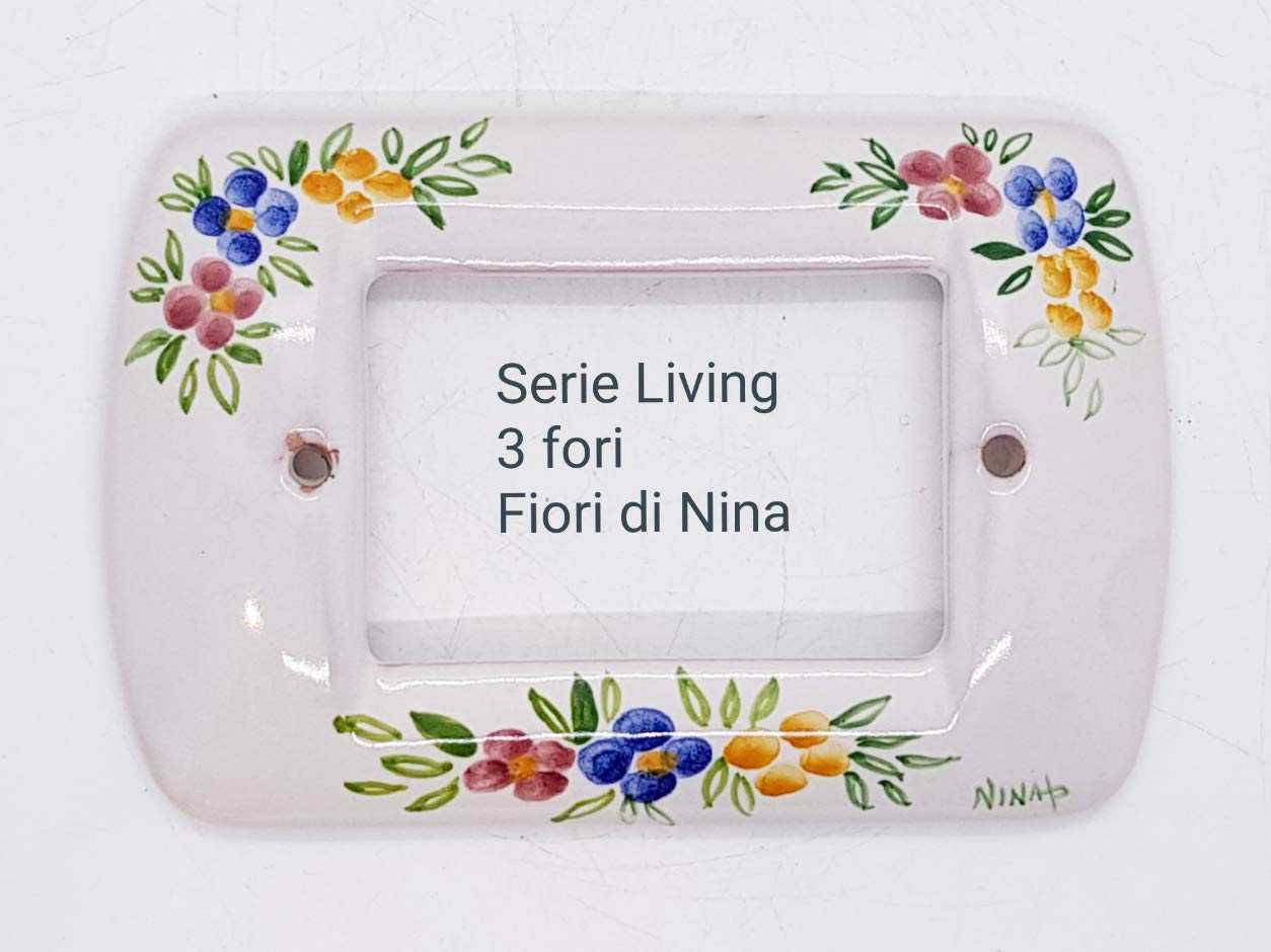 cel mai recent design preț rezonabil furnizor oficial Illuminazione Placchette Bticino Magic Ceramica Handmade Le ...