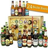 Bier Adventskalender Welt mit Tsingtao + Saigon Export + Cobra Premium Beer + mehr ... Ein tolles Geschenk für Männer. Bierset + Geschenk, Biersorten WELTWEIT. Adventskalender 2018 - mit 24 Biersorten in FLASCHEN Bieradventskalender Welt 2018 - Adventskalender für Männer, Adventskalender für Erwachsene, Bierkalender Adventskalender Alkohol, Weihnachtskalender mit Bier, Bier Adventskalender International, Weihnachtsgeschenke Bier für Männer