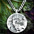 Collier en argent Starry Night, Van Gogh Bijoux