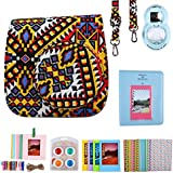 niceEshop(TM) Mini 8 Accessoires d'appareil Photo de Film Fixés pour Fujifilm Instax Mini 8/8 + avec Mini 8 Cas / Album / Close-up Selfie Lentille / Cadres / Cadres Suspendus / 4 Couleurs Close-up Lentille / Film Autocollants