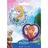 Wrights-Disney Frozen Iron On Appliques: Elsa & Anna. A Fun Addition To Any Outfit, Pillow And More! This 5-1/2X4 Inch Package Contains Two Iron-On Appliques. Imported.