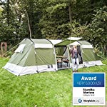 Skandika Montana Family Group Tunnel Tent with Sun Canopy, 200 cm Peak Height, 5000 mm Water Column 6