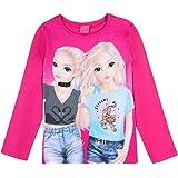 Top Model Niña T-Shirt, Manga Larga, Pink