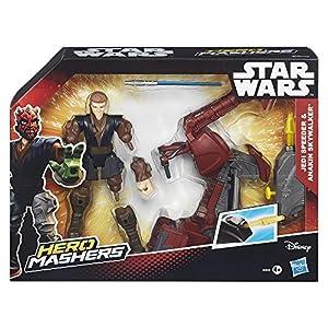 Star Wars Mashers B3833 Jedi Speeder & Anakin Skywalker Hasbro B3831
