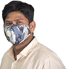 Eco365 Anti Pollution Mask PM2.5 (Army Design)
