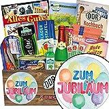 Zum Jubiläum ✿ Spezialitäten Set ✿ Geschenk Idee ✿ Zum Jubiläum ✿ DDR Produkte ✿ Geschenk 10 hochzeitstag ✿ INKL DDR Kochbuch