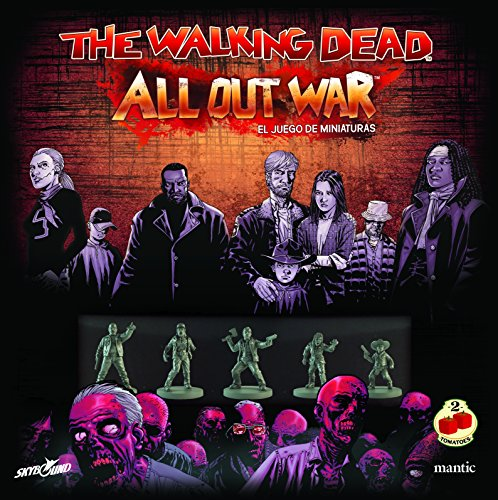 2 Tomatoes Games The Walking Dead: All out War-Caja