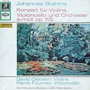 Brahms: Konzert für Violine, Violoncello und Orchester a-moll op. 102 [Vinyl LP] [Schallplatte]