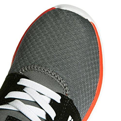 Dc Shoes - Heathrow, Sneakers, unisex Grigio/Nero/Rosso