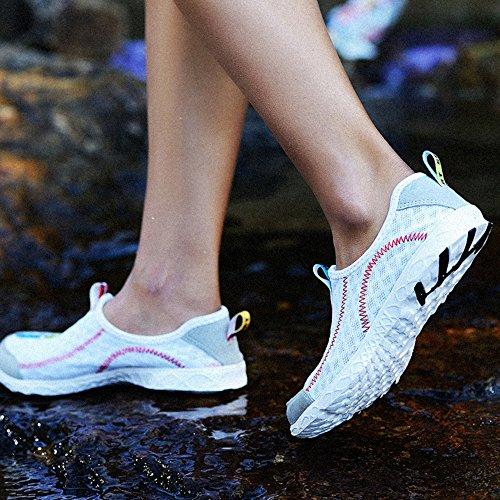 XIANV super coole bequeme Männer beiläufige Schuhe Breathable Ineinander greifen Schuhe Super helle Schuh Mann Marken Schuhe Weiß