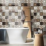JY ART Wand-Aufkleber Küche Deko Badezimmer-Gestaltung - Küchen-Fliesen überkleben - Dekorative Bad-Gestaltung - Fliesen-Aufkleber 20cmx5m HB012, 20cm*5m