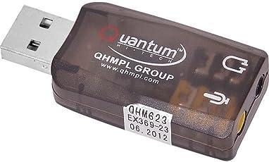 Quantum USB Sound Card QHM-623 For All Computer/PC