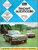 REVUE TECHNIQUE L'EXPERT AUTOMOBILE N° 193 MERCEDES 200 D / 240 D A PARTIR DES MODELES 1983