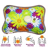 #10: Inditradition Electrothermal Heating Gel Pad | For Joint Pain or Body-Ache Relief | Rechargeable, Assorted Color & Design (Pack of 1) (26 x 19 CM)