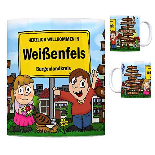trendaffe - Herzlich Willkommen in Weißenfels Saale Kaffeebecher