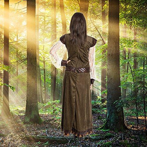 Kostümplanet® Lady Marianne Robin Hood Damen Kostüm Kleid Größe 40/42 - 6