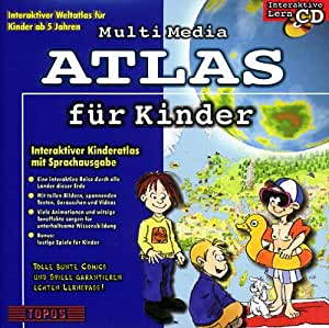 multimedia atlas f r kinder 1 cd rom interaktiver. Black Bedroom Furniture Sets. Home Design Ideas