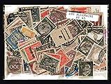 Briefmarkensammlung Deutschland vor 1945, abgestempelte Marken, verschiedene Motive, 200 Stück