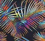 Stenzo – Jersey Stoff mit Palmen I Digital Druck