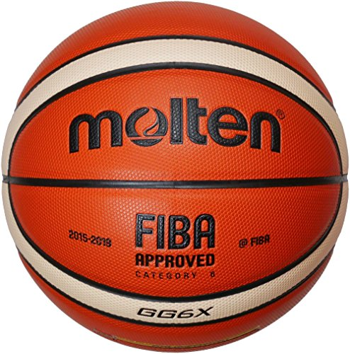 Molten Basketball, Orange/Ivory, 6, BGG6X-DBB