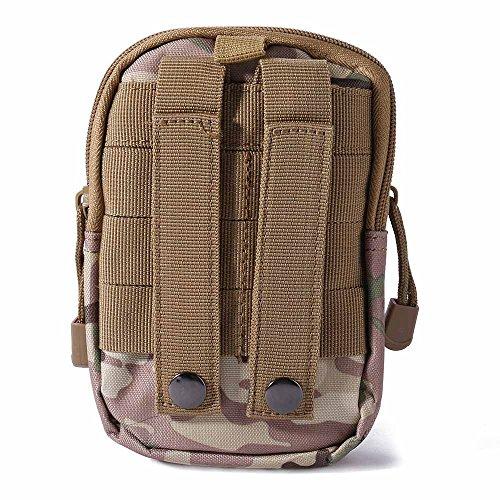 WILLIAM&KATE Multifunktions-Unisex Outdoor Taktische Schulter Reise Sport Camping Wandern Trekking Taschen Taille Packs CP