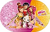 BBS 125813–Mia und Me Matte, ovalen, 29x 44cm