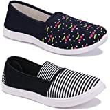 Shoefly Women Multicolour Latest Collection Sneakers Shoes- Pack of 2 (Combo-(2)-1451-11022)