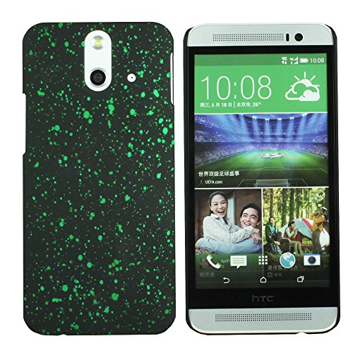 Heartly Night Sky Glitter Star 3D Printed Design Retro Color Armor Hard Bumper Back Case Cover For HTC One E8 Dual Sim - Nature Green  available at amazon for Rs.199