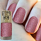 #10: COLOR N STYLE MATTE GLITTER 36
