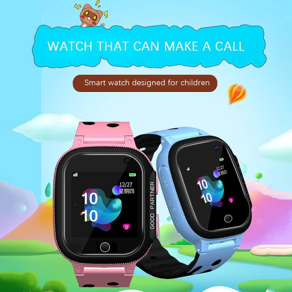 Mejor Regalo Para Un Nino De 4 Anos.Bobolover Smartwatch Ninos Reloj Inteligente Para Ninos Impermeable Ip67 Con Lbs Hacer Llamadas Chat De Voz Sos Camara Mejor Regalo Para Nino