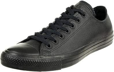 Converse All Star Ox Leather Sneakers Nero Monocromatico
