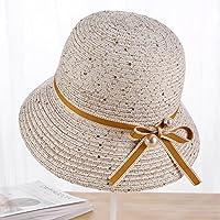 LTQ&qing (3 unids) sombreros de primavera y verano mujeres hilado de algod¨®n sombrero del sol de verano salvaje sombra del sol salvaje , B , m (56-58cm)