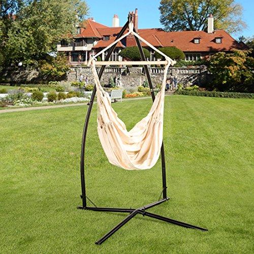 ultranatura h ngesessel mit querstrebe h ngestuhl aus der bali serie bis 150 kg belastbar xl. Black Bedroom Furniture Sets. Home Design Ideas