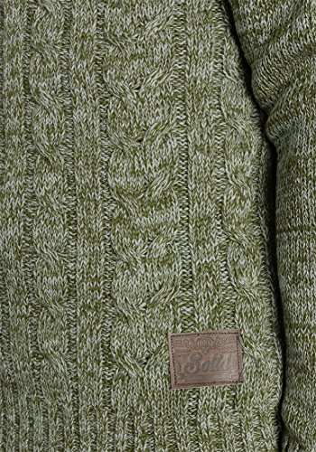 SOLID Philemon - Pull en Maille- Homme Ivy Green (3797)