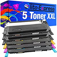 PlatinumSerie® 5x Toner compatible con Samsung CLP-310 CLT-4092 CLP-310K CLP-310N CLP-310NK CLP-315 CLP-315K CLP-315N CLP-315W CLP-315WK CLX-3170 CLX3170N CLX-3170FN CLX-3175 CLX-3175N CLX-3175FN
