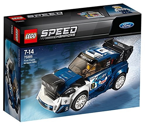 LEGO – 75885 – Speed Champions – Jeu de construction – Ford Fiesta WRC M – Sport