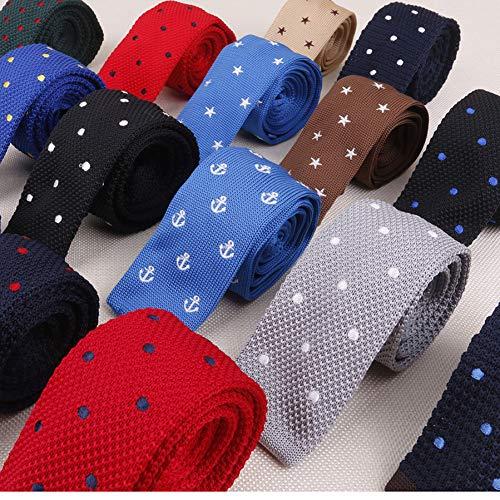 LLTYTE Krawatte Fliege Mode lässig Mans binden floral Blume Krawatte Seide Jacquard gewebt 8 cm Herren Krawatte Hochzeitformelle Kleidung Mens Geschenk -